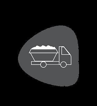 Transport i gestió de residus de la construcció.