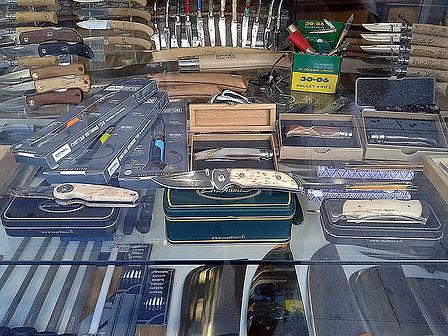 Salabert Ganivets es una tienda de cuchillos y otros utensílios afilados que se encuentra en Andorra la Vella. Guía turística Guiand Andorra.