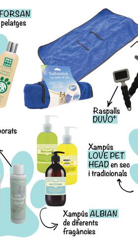La higiene de la teva mascota és fonamental per la seva salut i benestar
