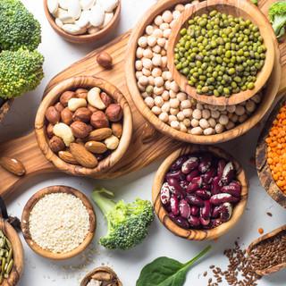 Cinc fonts de proteïnes vegetals
