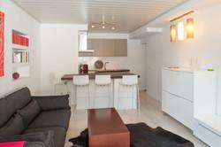 Interior cocina y comedor reformado. Alt Serveis en Andorra y la Costa Brava.