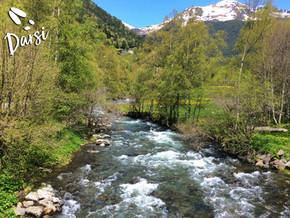 Dos afluentes y más de 40 km de recorrido dan vida al río Valira