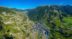 Panorámica de Andorra. Alt Serveis, servicios inmobiliarios en Andorra y la Costa Brava.
