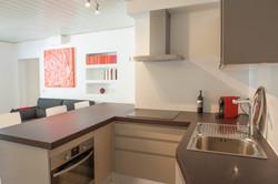 Interior cocina reformado. Alt Serveis en Andorra y la Costa Brava.