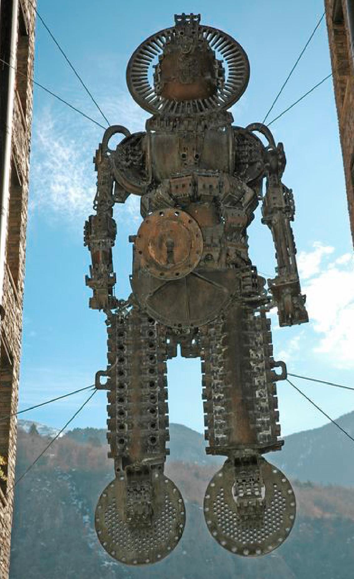 Robot en suspensió
