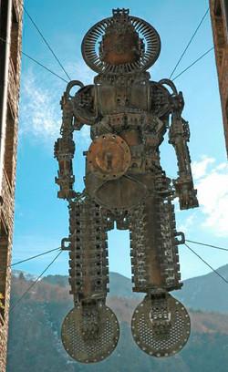 Robot en suspensión