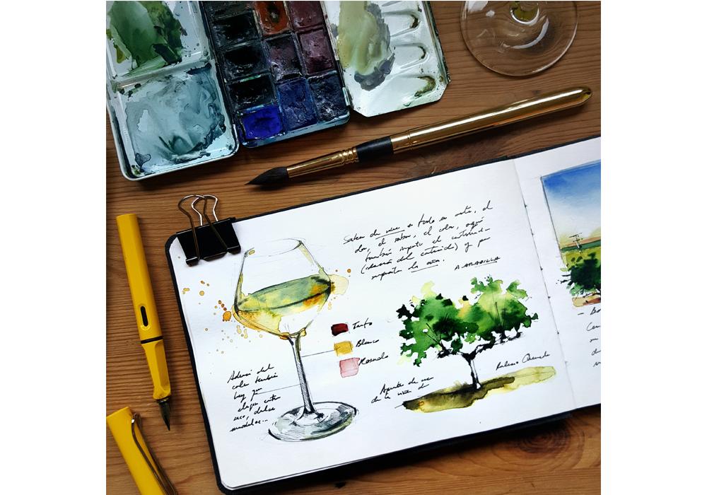 Extremadura Travel Sketchbook
