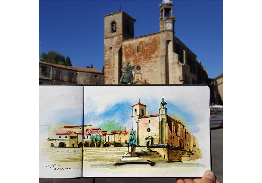 Extremadura Travel Sketchbook