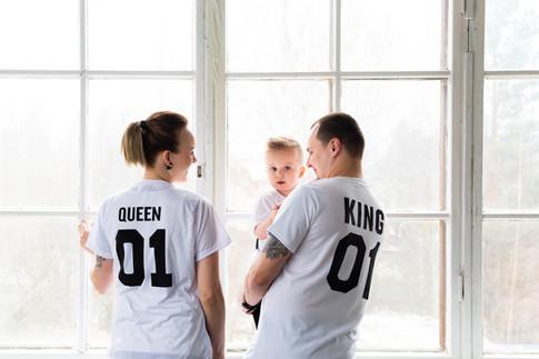 Vaatteet lapsi- ja perhekuvassa