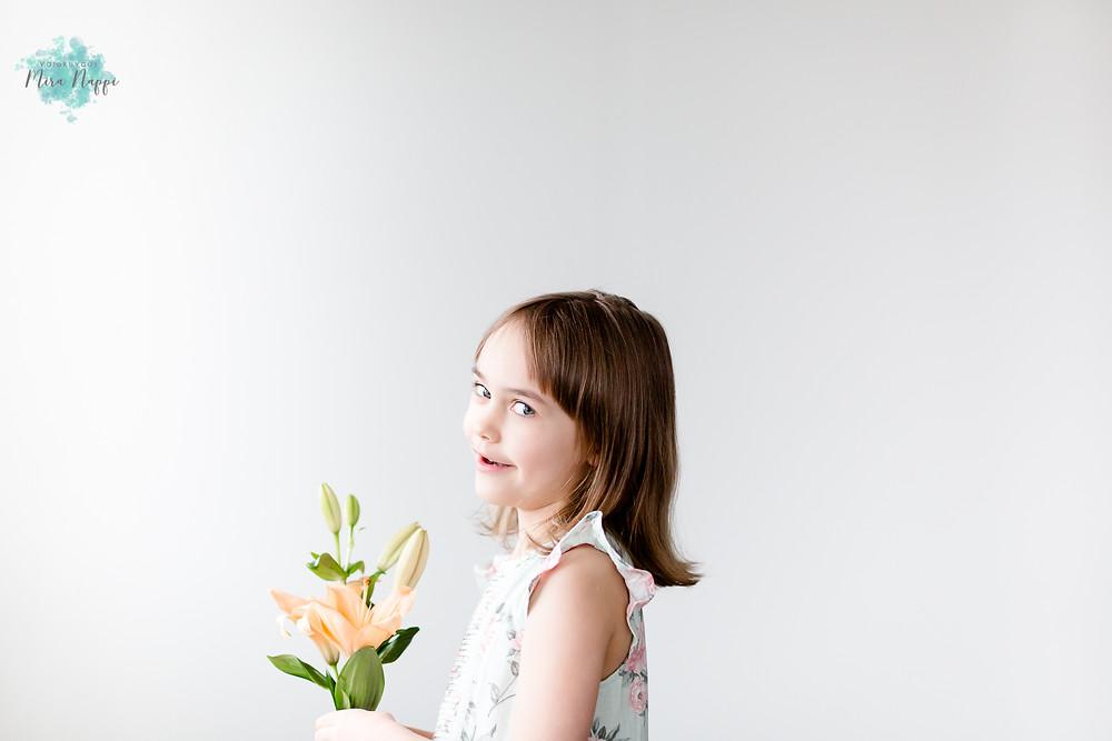 Lilja, 6 vuotta © Valokuvaus Mira Näppi