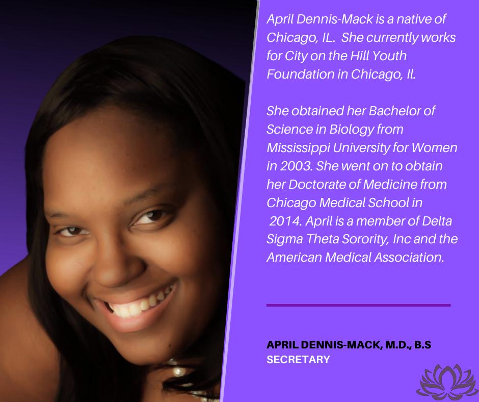 April Dennis-Mack