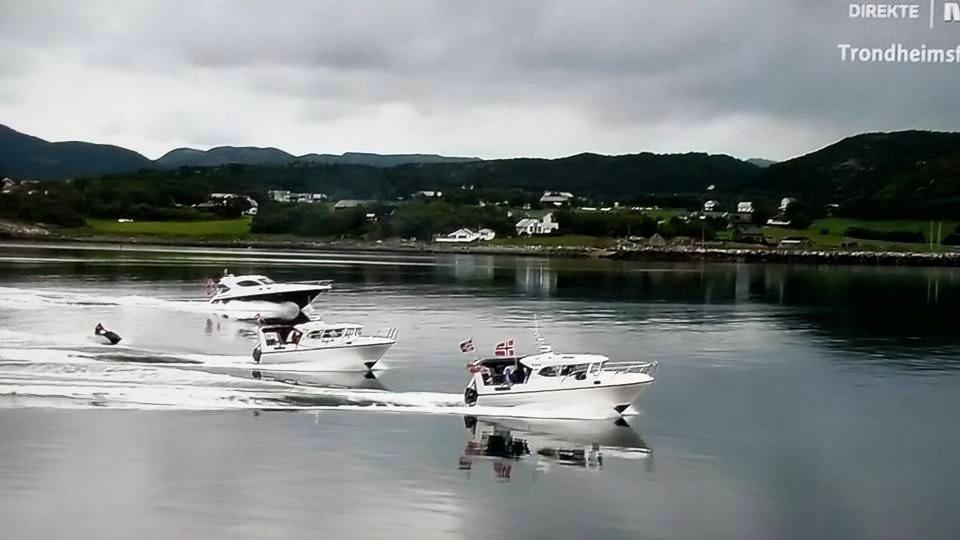 Kjente båter her ja....