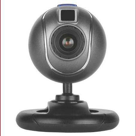 Webkamera, enda ute av drift...