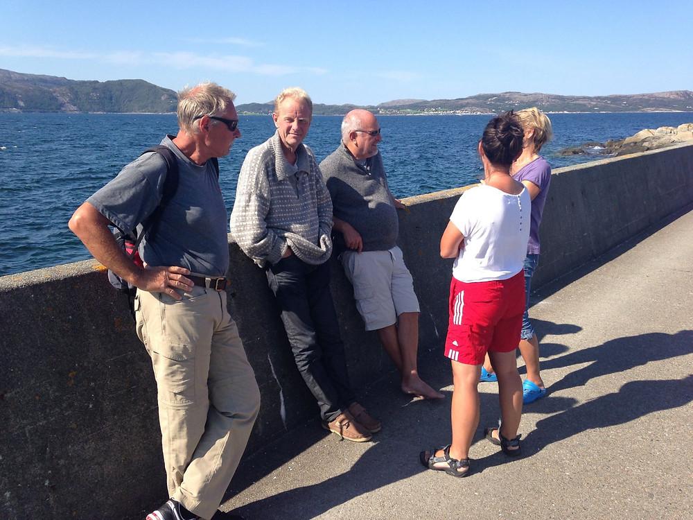 Magne faste båtturiser har meldt seg inn i båtforeningen... Meget godt tegn..