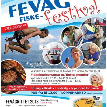Fevåg Fiskefestival 2018...