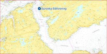 Båtforeningen ligger midt imellom Stadsbygd og Brekstad....