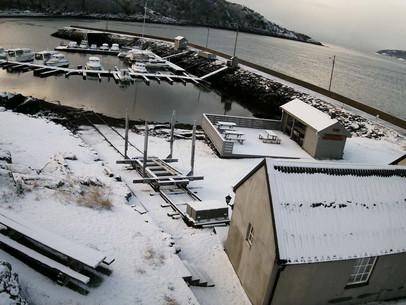 'Kong vinter' på besøk...