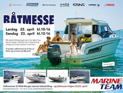 Båtmesse, Øysand 22-23 april...