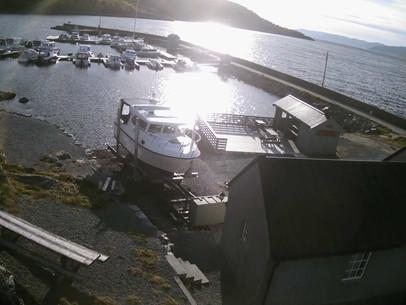 Årets siste båt på slipp ?