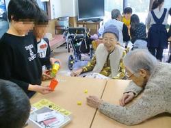 地元小学校との交流会