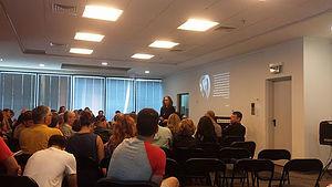 2016年6月17日 大使館にてイスラエルのデザインについての講義