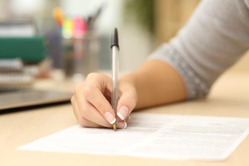 Firma de Contrato
