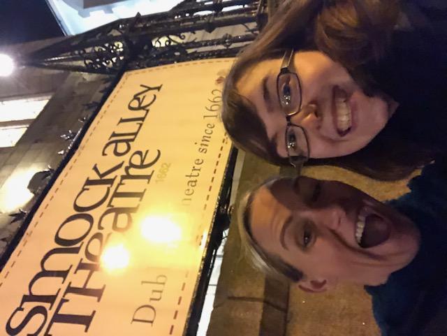 Dublin - Smock Alley Theatre & Laura