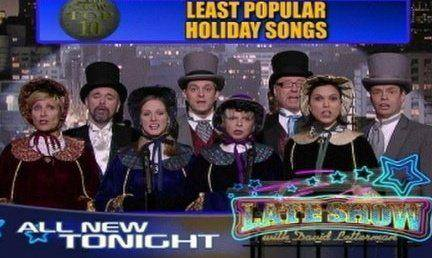 Late Show Top 10 Carolers