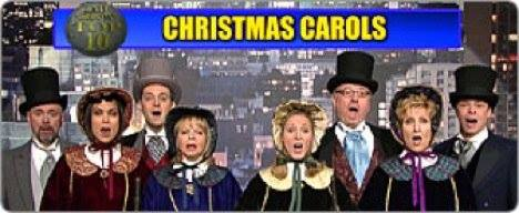 Late Show Top Ten Carolers