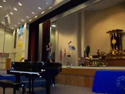 Singing at FNCC