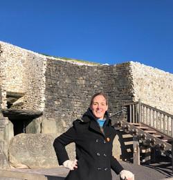 Exploring Newgrange in Ireland