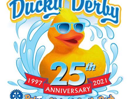 Castle Rock Ducky Derby - 25th Anniversary