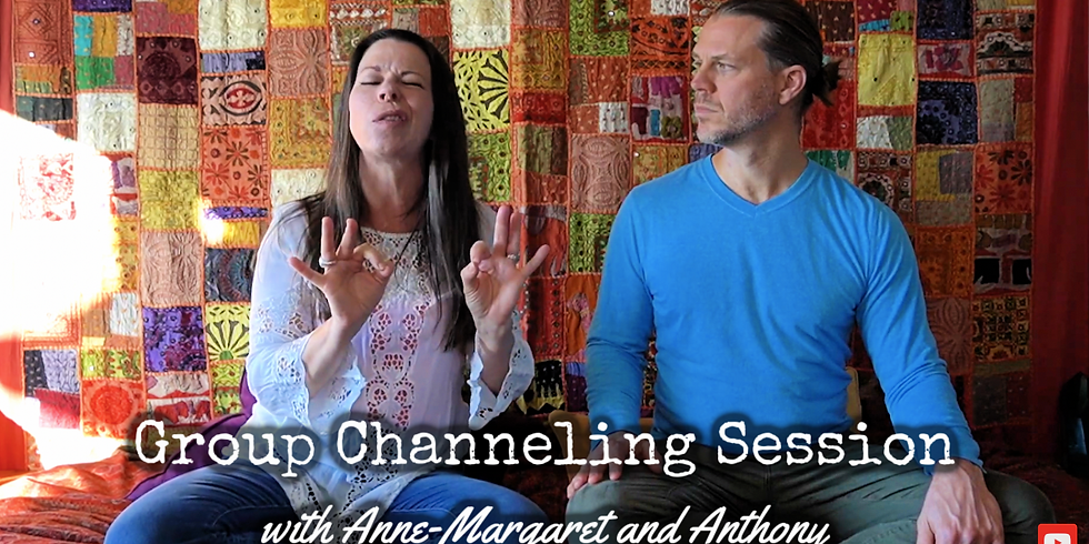 Channeling and Mediumship with Anne-Margaret & Anthony 6/8/21