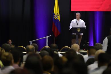 Duque solicitó al CIDH liderar investigaciones contra el gobierno de Maduro