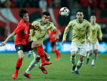 Con gol de Luis Díaz, Colombia cayó ante Corea del Sur