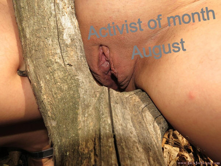 Activist of the month August