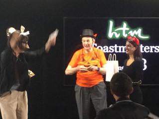HTM Toastmasters - Halloween meeting, Area 33, HTMトーストマスターズ ハロウィン例会、エリア33