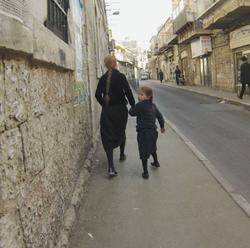 Jerusalem orthodox jewish quarter