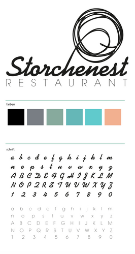 Style guide Restaurant Storchenest