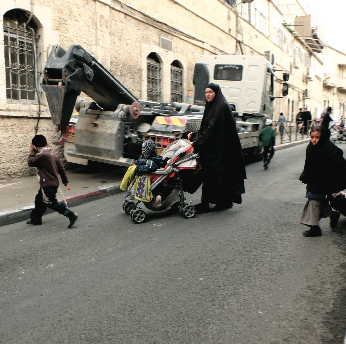 Jerusalem orthodox jewish quarter