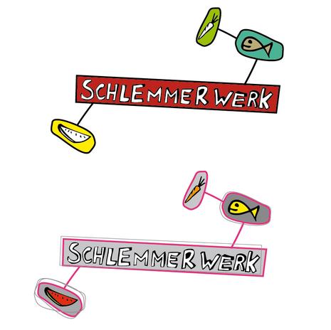 Schlemmerwerk Logo Design