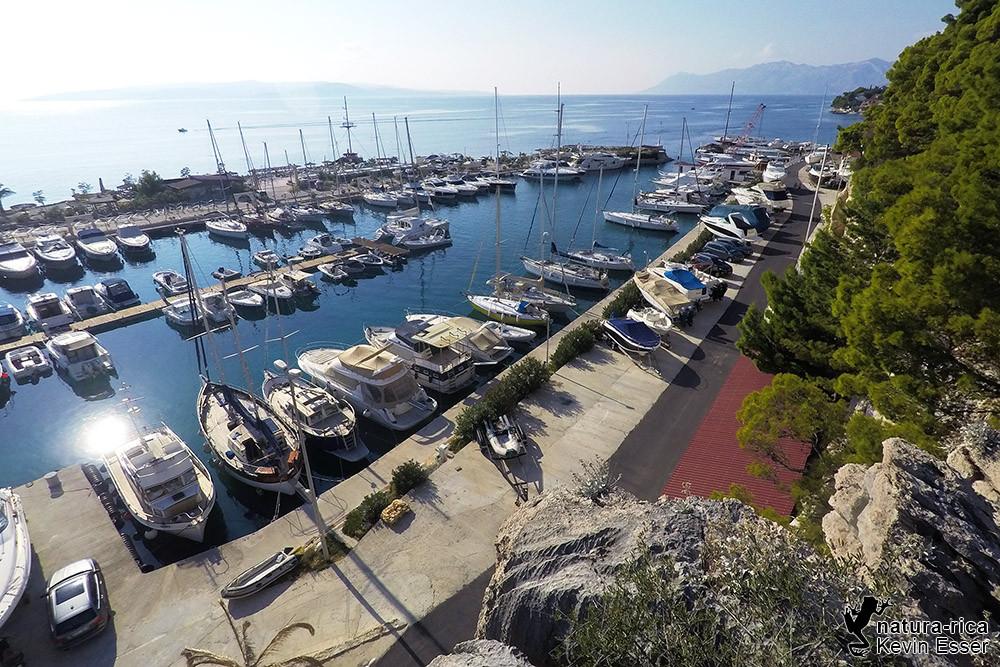 Hafen von Kravica