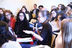 NYU Florence Student Katia Taylor at Q+A