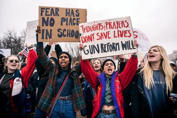 Social Activism Today: Students Walk Out to Demand Gun Control