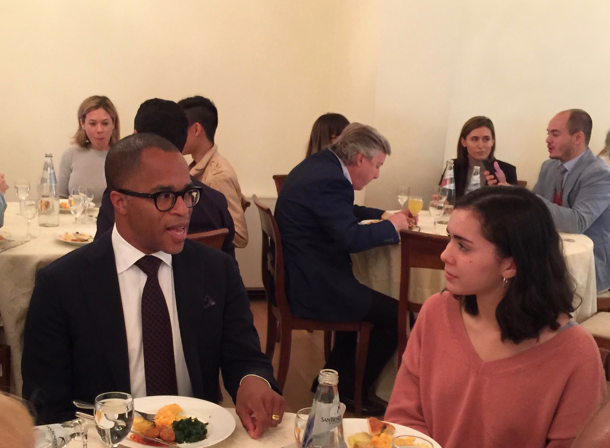 Devin Lee at Lunch With Jonathan Capehart