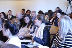 NYU Florence Student Ori De Angelis at Q&A