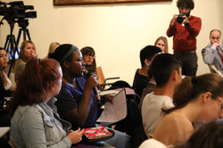 NYU Florence Student Marly Lake Asks a Question