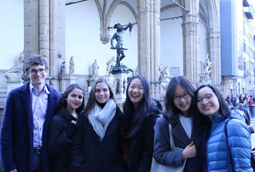 Students Present at the Unity in Diversity Global Mayor's Conference at Palazzo Vecchio