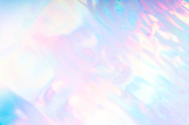 Colorful pastel futuristic funky fantasy