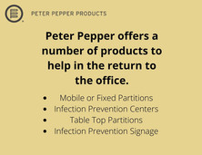 Peter Pepper COVID-19 Products